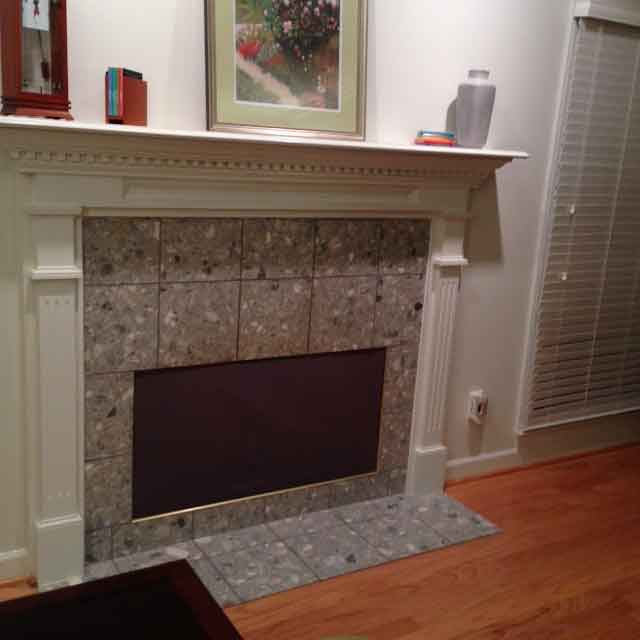 Insulated Magnetic Decorative Fireplace Cover - Fireplace ...