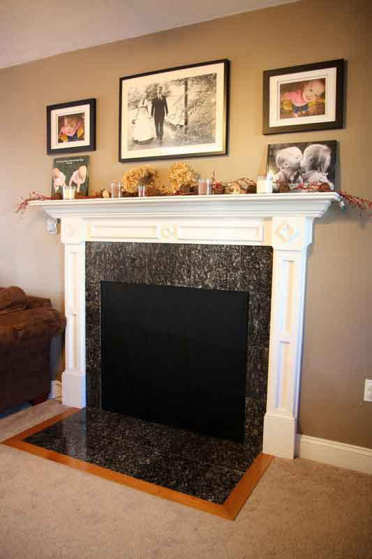 Insulated magnetic decorative fireplace cover fireplace - Ideas to cover fireplace opening ...