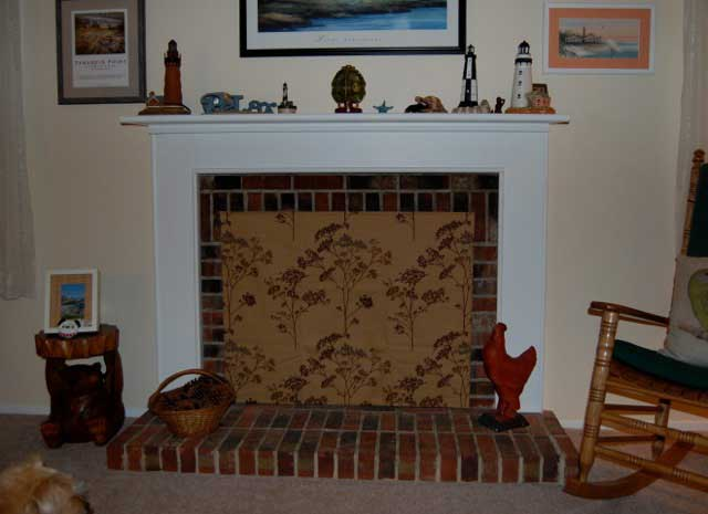 Fireplace fashion fireplace covers insulated decorative Decorative fireplace covers