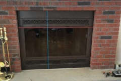 Fireplaces With Glass Front