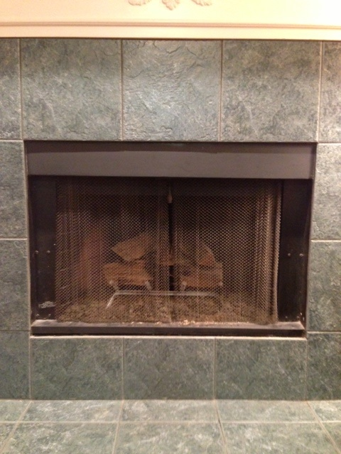 fireplace covers for wood burning fireplace insulated