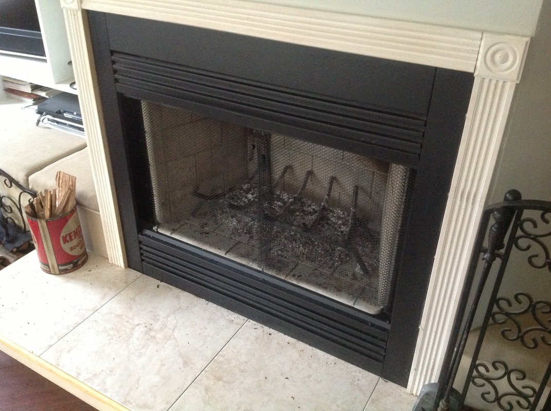 insulate fireplace with attached screens and the Fireplace Fashion cover