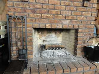 No Doors Or Screens On Your Fireplace