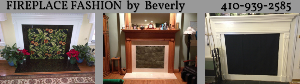 fireplace cover for gas burning fireplace