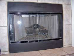 Gas Burning– With Glass Doors